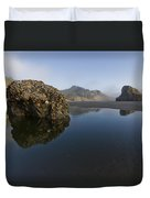 Starfish Beach Duvet Cover by Debra and Dave Vanderlaan