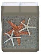 Starfish Three Duvet Cover by Sandi OReilly
