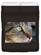 Staring Cat Duvet Cover