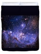 Stars And The Milky Way Duvet Cover