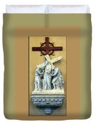 Station Of The Cross 02 Duvet Cover