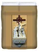Station Of The Cross 04 Duvet Cover