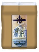 Station Of The Cross 08 Duvet Cover