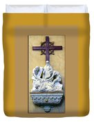 Station Of The Cross 09 Duvet Cover
