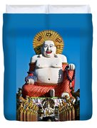 Statue Of Shiva Duvet Cover