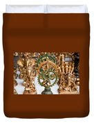 Statues For Sale Of Hindu Gods Duvet Cover
