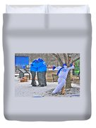 Staying Warm Duvet Cover