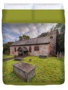 St.dyfnog's Church Duvet Cover by Adrian Evans