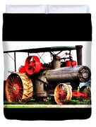 Steam Engine Tractor  Duvet Cover