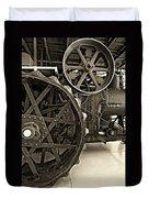 Steam Power Monochrome Duvet Cover