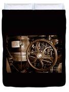 Steam Wheel Duvet Cover