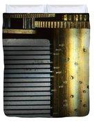 Steampunk - Gears - Music Machine Duvet Cover