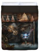 Steampunk - Industrial Society Duvet Cover