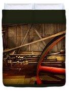 Steampunk - Machine - The Wheel Works Duvet Cover