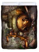 Steampunk - Naval - Shut The Valve  Duvet Cover