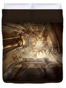 Steampunk - Naval - The Escape Hatch Duvet Cover
