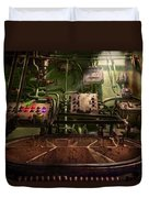 Steampunk - Naval - This Is Where I Do My Job Duvet Cover