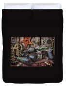 Steampunk Still Life Duvet Cover