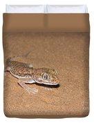 Stenodactylus Petrii Or Dune Gecko Duvet Cover