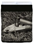 Stephen Grant And Sons Side Lever Twelve Bore - D003359-bw Duvet Cover