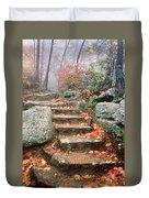 Steps Cloudland Canyon Duvet Cover