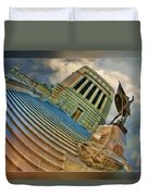 Steps To Justice Duvet Cover