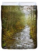 Still Creek Duvet Cover