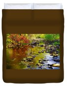 Still Golden Waters Duvet Cover