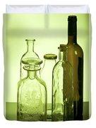 Still Life Of Bottles  Duvet Cover