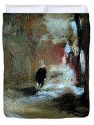 Stillness Of The Day Duvet Cover