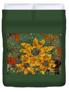 Stimuli Floral - S04ct01 Duvet Cover by Variance Collections