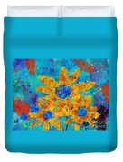 Stimuli Floral S01 Duvet Cover by Variance Collections