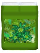 Stimuli Floral -s11bt01 Duvet Cover by Variance Collections