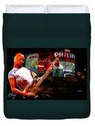 Sting In Concert Duvet Cover
