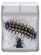 Stinging Caterpillars Duvet Cover