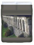 Stone Arches And Shadows Duvet Cover