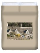 Stone Cottages Duvet Cover