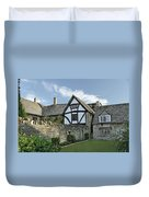 Stone Cottages In Broadway - Gloucestershire Duvet Cover