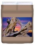 Stone Lagoon Sunset Redux Duvet Cover