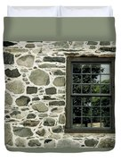 Stone Wall With A Window Duvet Cover