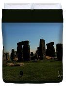 Stonehenge England Duvet Cover