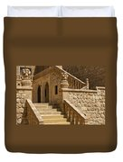 Stones And Stairs Duvet Cover