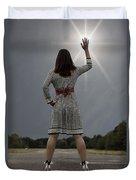 Stop The Sun Duvet Cover