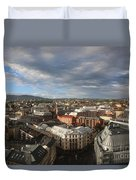 Storm Approaching Oslo Duvet Cover