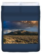 Storm Clearing Over Great Basin Duvet Cover