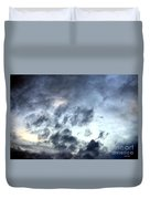 Storm Clouds At Dawn Duvet Cover