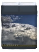 Storm Clouds Thunderhead Duvet Cover