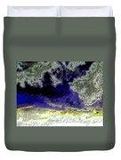 Storm On The Landscape Duvet Cover