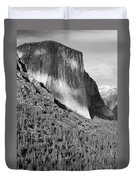 Storm Over El Capitan Duvet Cover