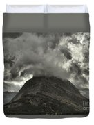 Storm Over Grinnell Duvet Cover